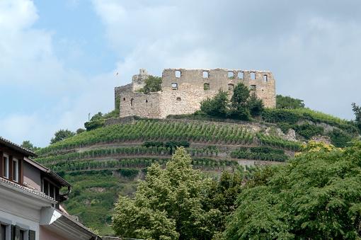 castle ruin of Staufen