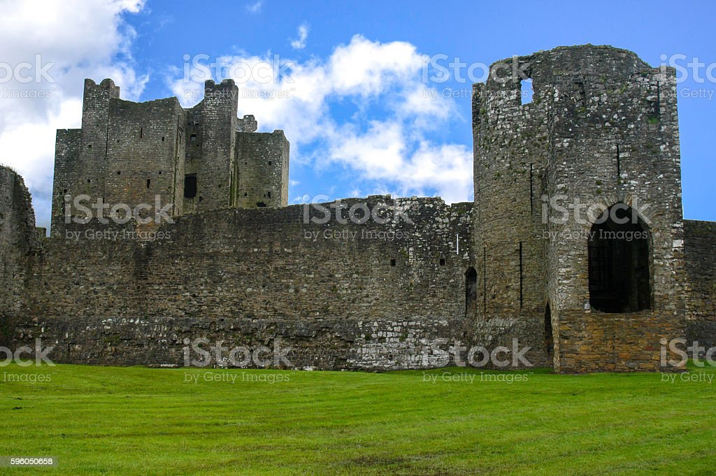 Castle Ruins in Ireland royalty-free stock photo