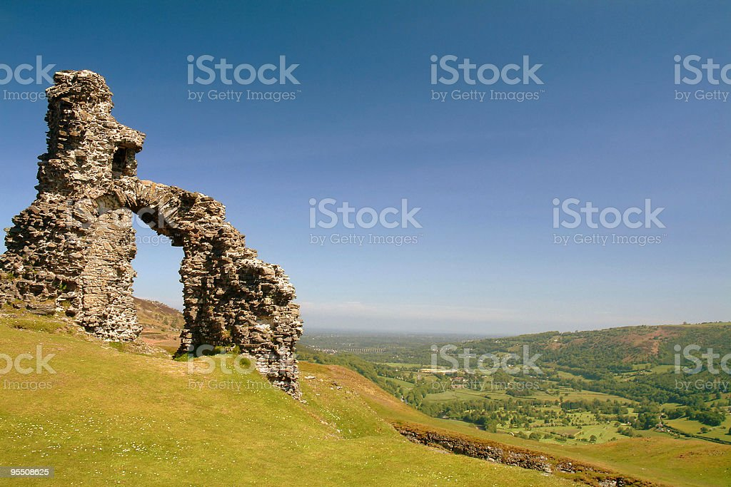 Castle Ruins royalty-free stock photo