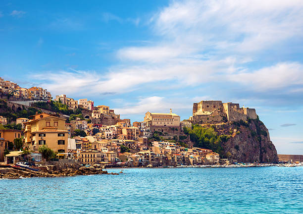 castle scilla - south stock pictures, royalty-free photos & images