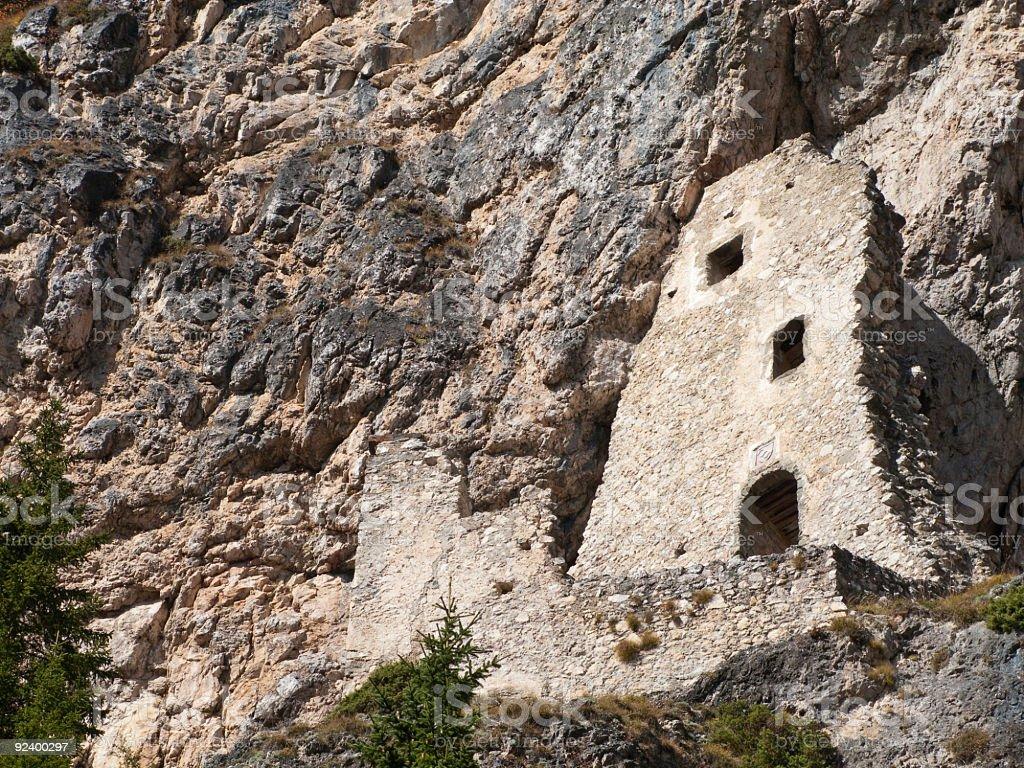 Castle Selva stock photo