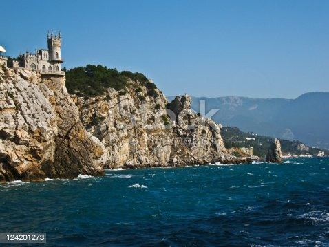 "istock Castle ""Swallow's nest"", Crimea 124201273"