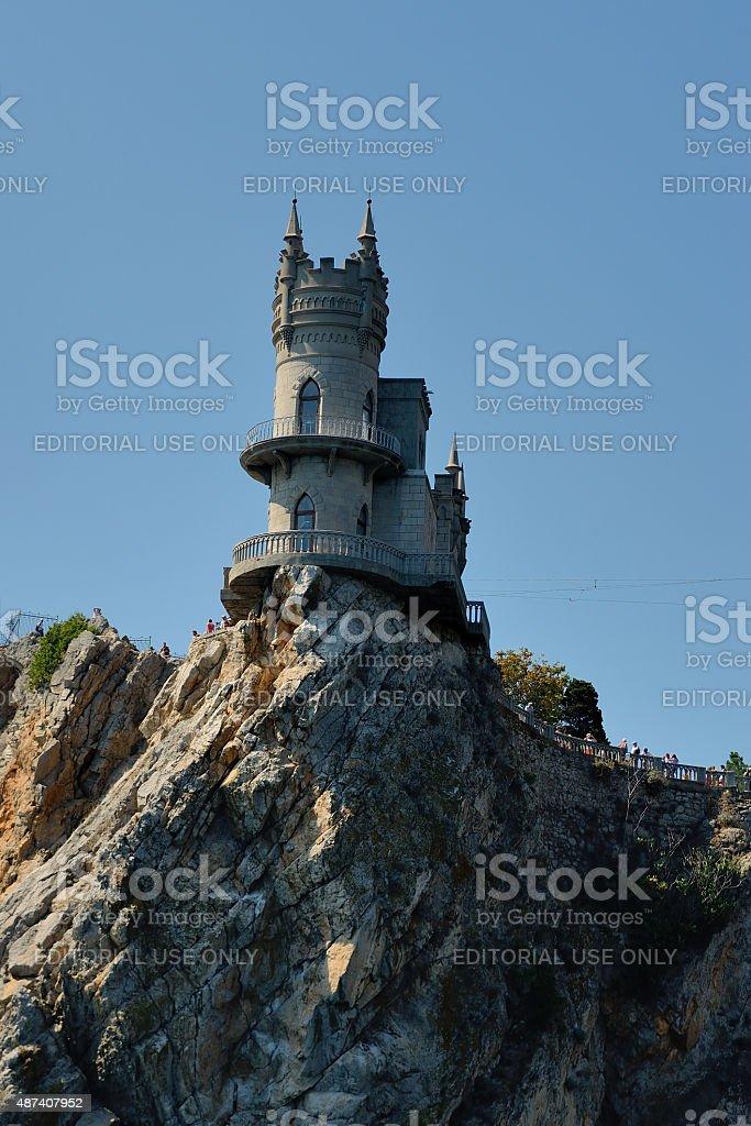 Castle Swallow's Nest, Gaspra stock photo