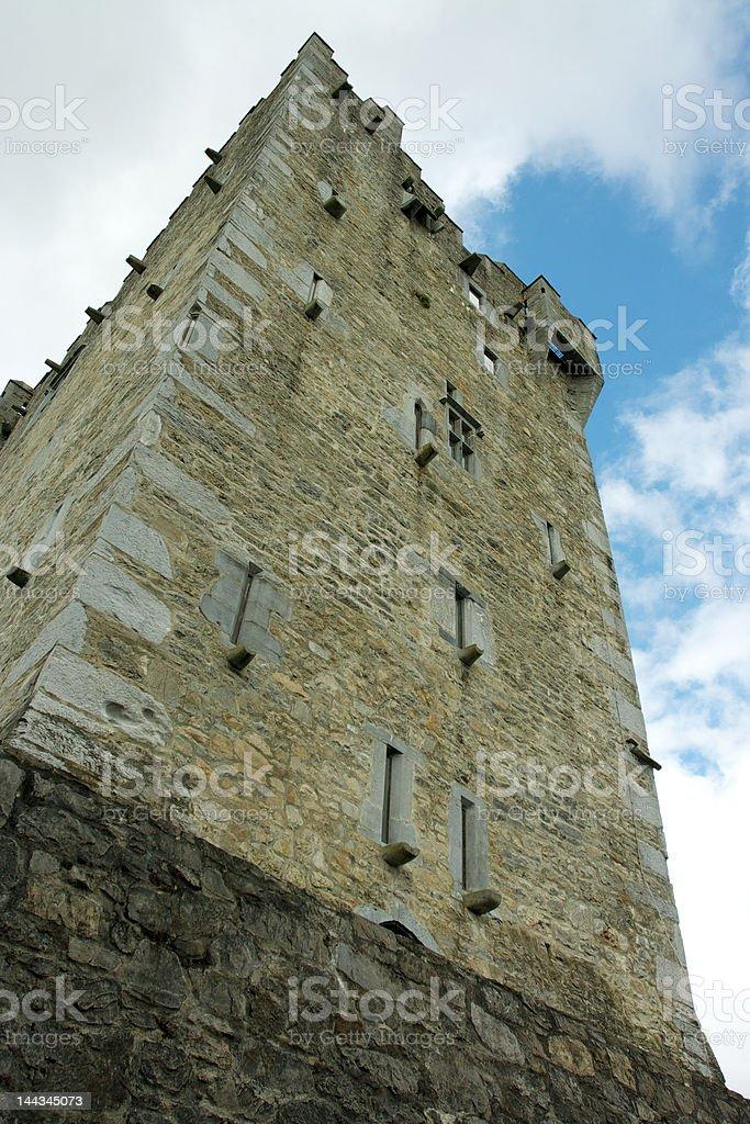 Castle Tower in Killarney. stock photo