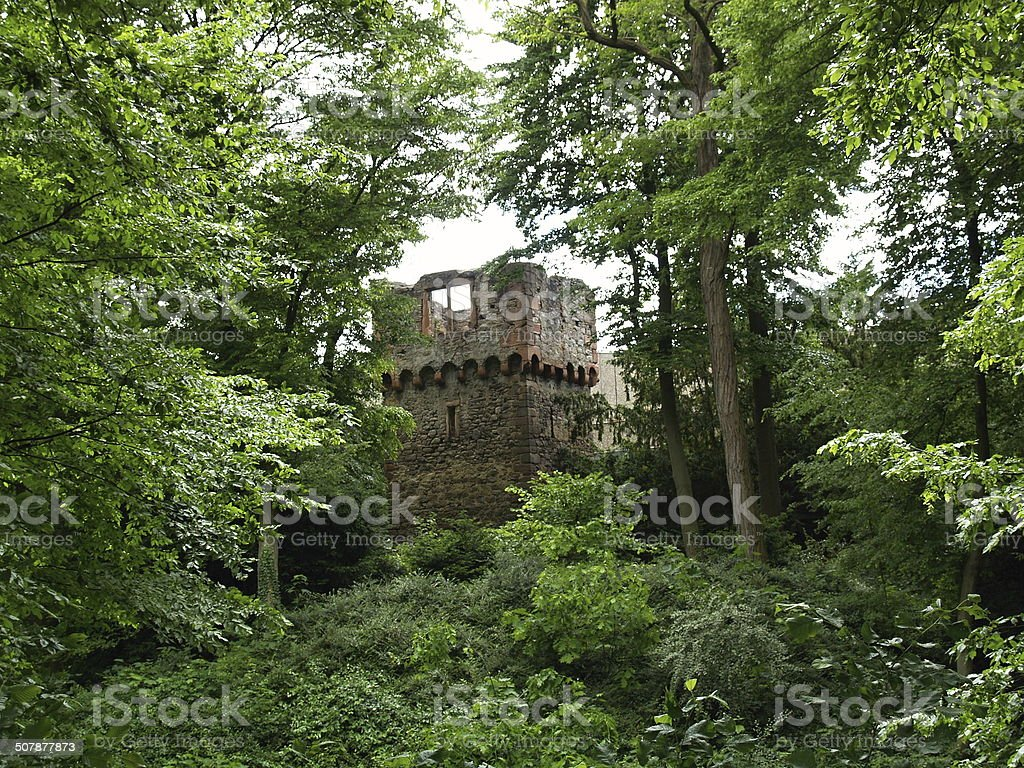 Burgturm stock photo