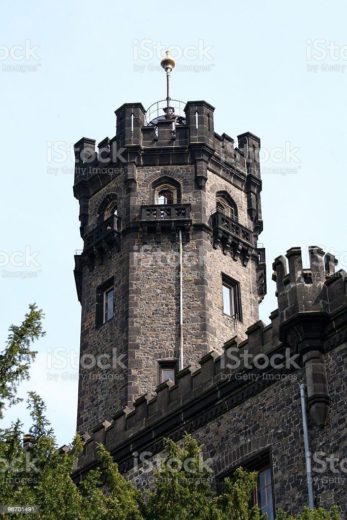 Torre di castello foto stock royalty-free