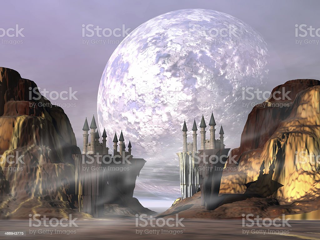 Castle Valley royalty-free stock photo