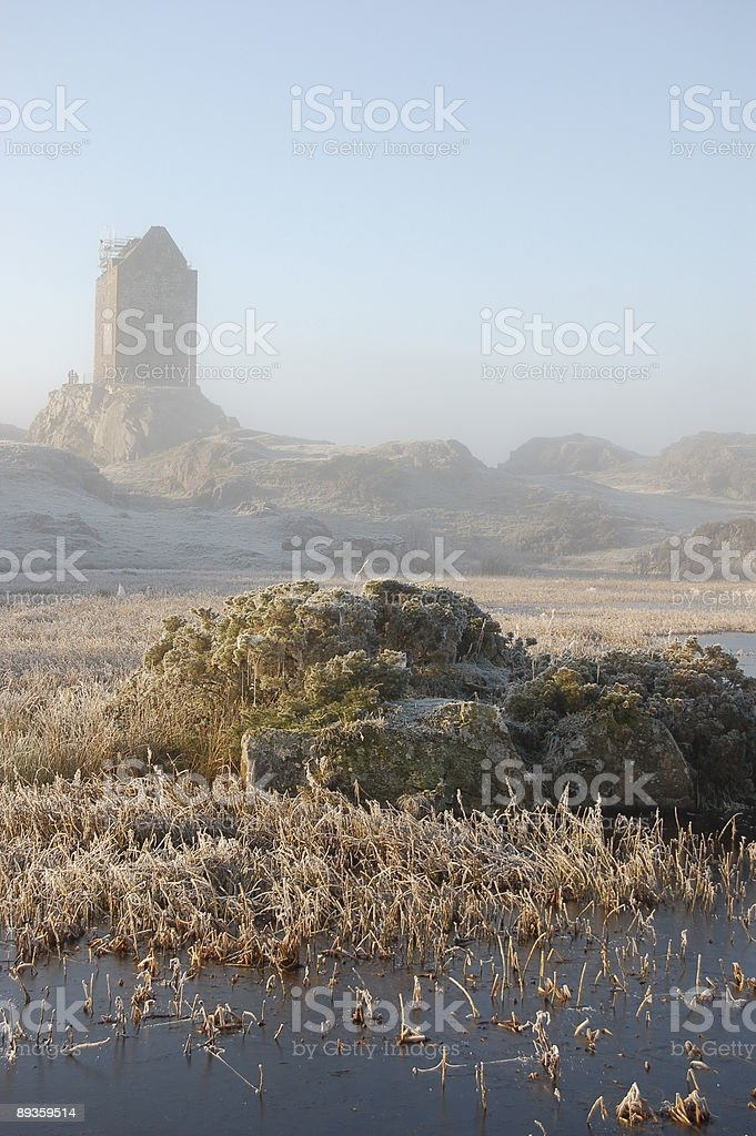 Castle View royalty free stockfoto