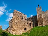 Castle walls, Framlingham Castle, Suffolk
