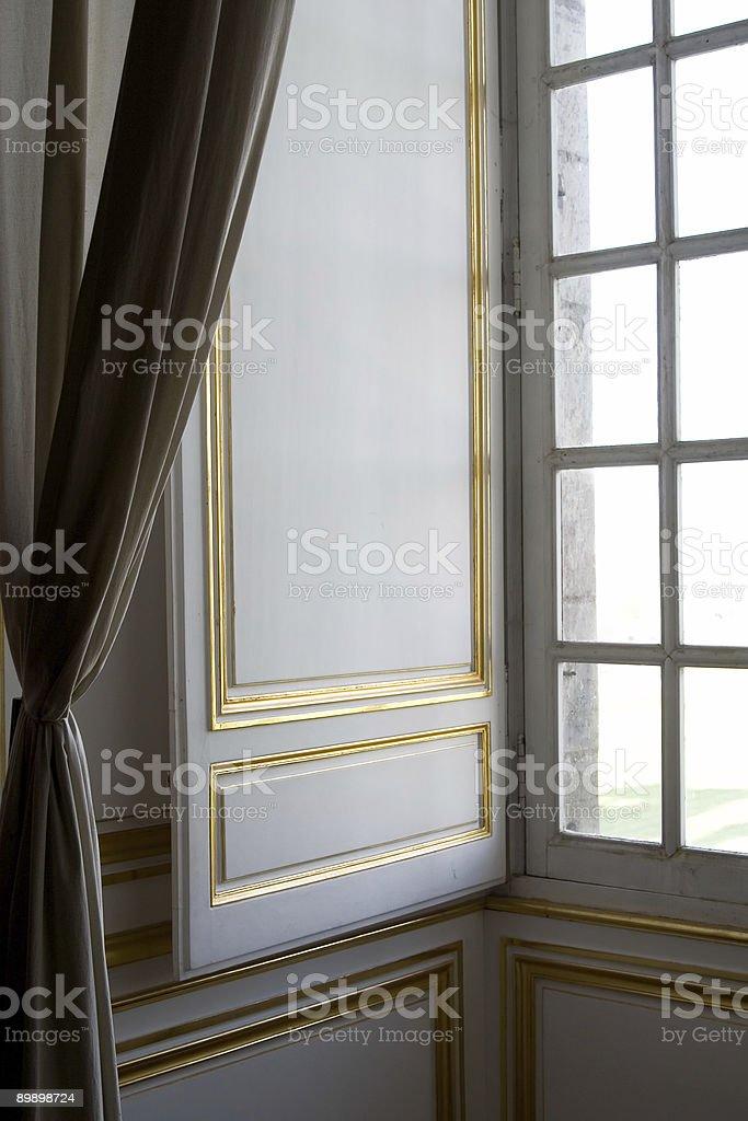 Castle Window royalty-free stock photo