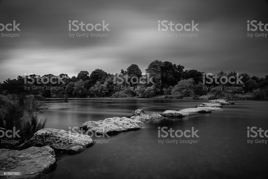 Castleconnell 03-10-2016 B&W stock photo