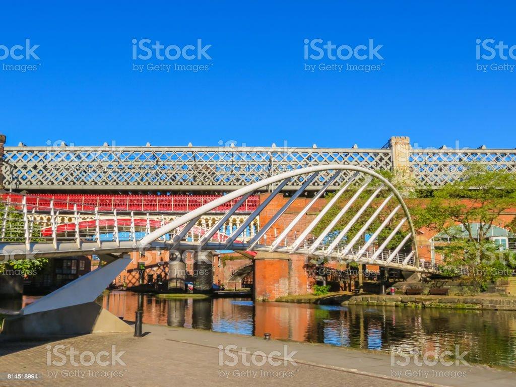 Castlefield, Manchester, England, United Kingdom stock photo