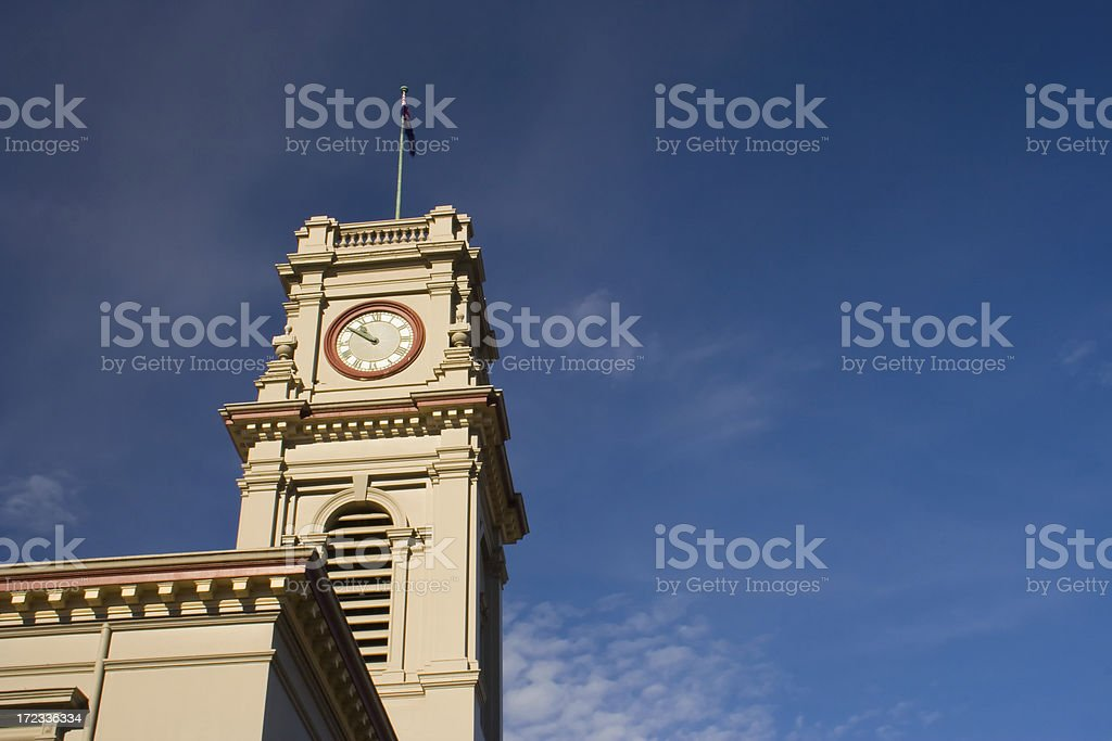 Castlemaine Town Hall stock photo