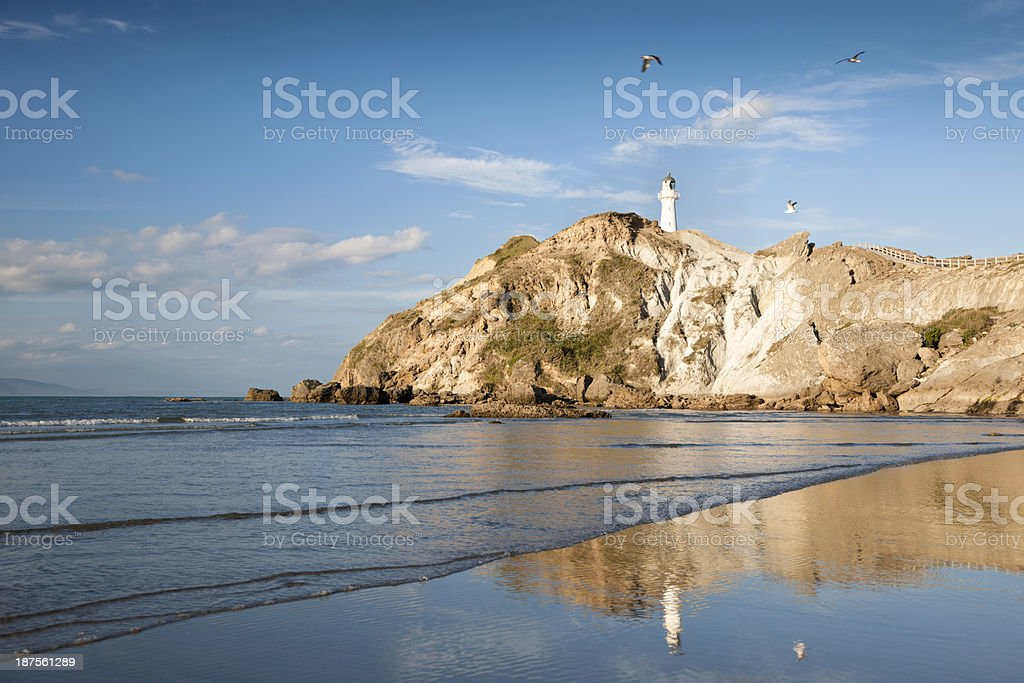 Castlepoint, New Zealand stock photo