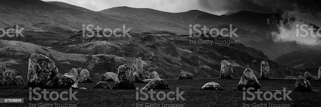 Castlerigg royalty-free stock photo