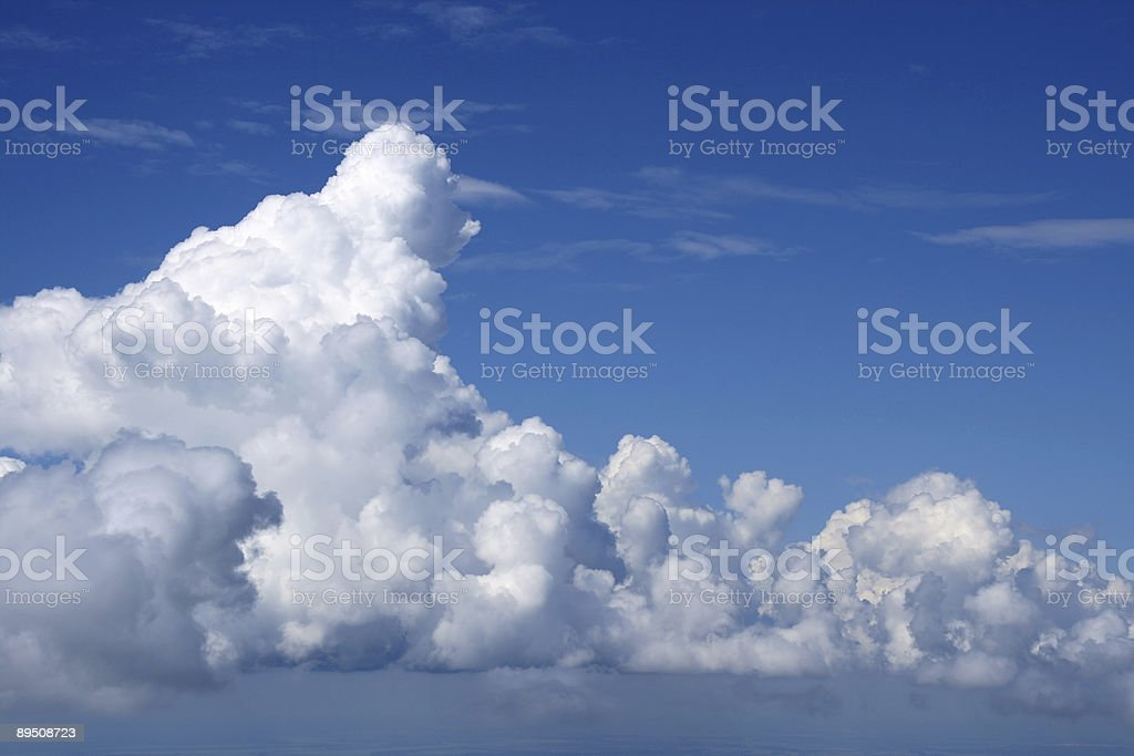 Castleses in the air. royalty-free stock photo