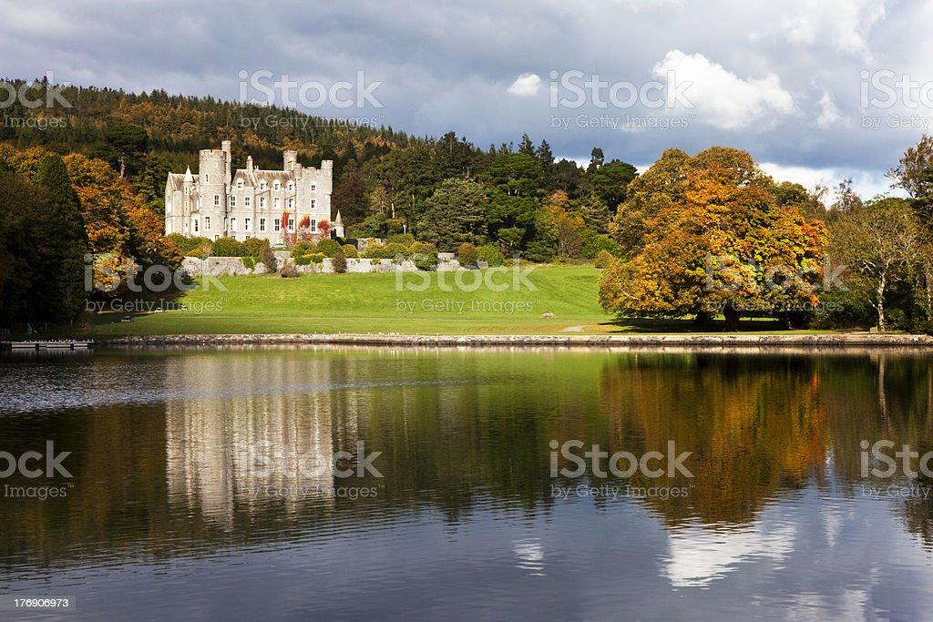 Castlewellan Autumn royalty-free stock photo
