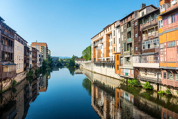 Castres (França) - foto de acervo