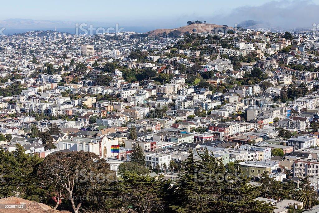 Castro District San Francisco stock photo