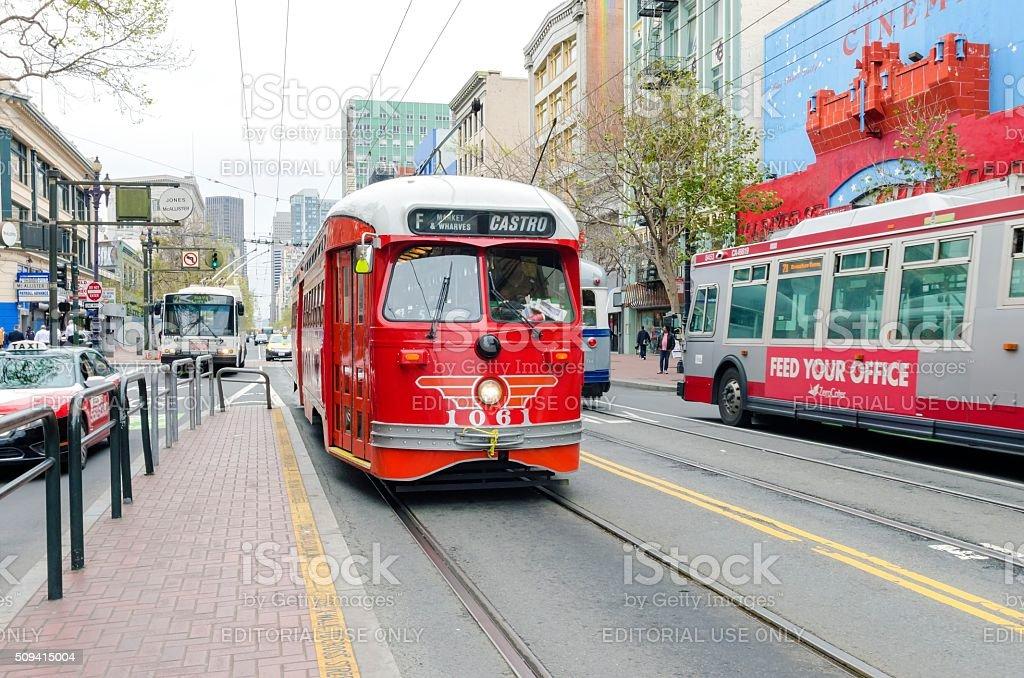 Castro MUNI, San Francisco stock photo