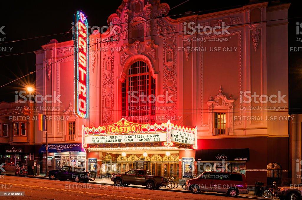 Castro Theater San Francisco stock photo
