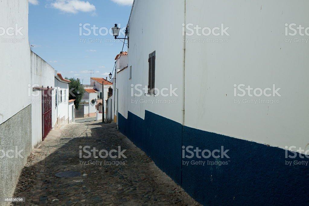 Castro Verde Buildings stok fotoğrafı