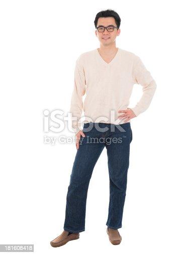 istock Casual Asian man 181608418