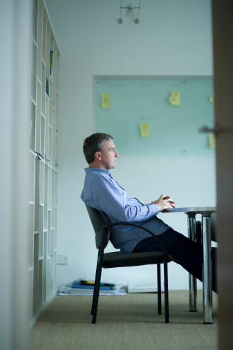 530281733 istock photo casual businessman thinks in his office 175449141