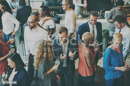 istock Casual Catering Discussion Meeting Colleagues Concept 597940046