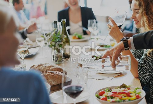 istock Casual Catering Discussion Meeting Colleagues Concept 598243312