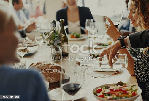 istock Casual Catering Discussion Meeting Colleagues Concept 599485258