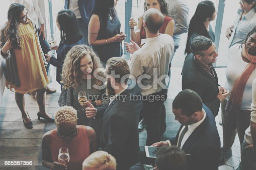 istock Casual Catering Discussion Meeting Colleagues Concept 665387356