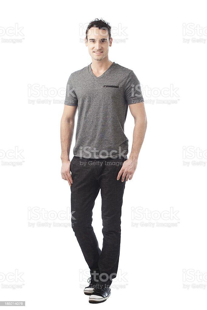 Casual Caucasian Man stock photo