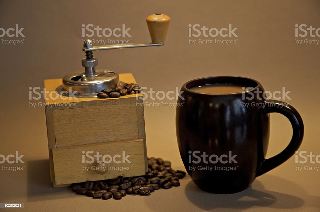 Casual coffeee royalty-free stock photo