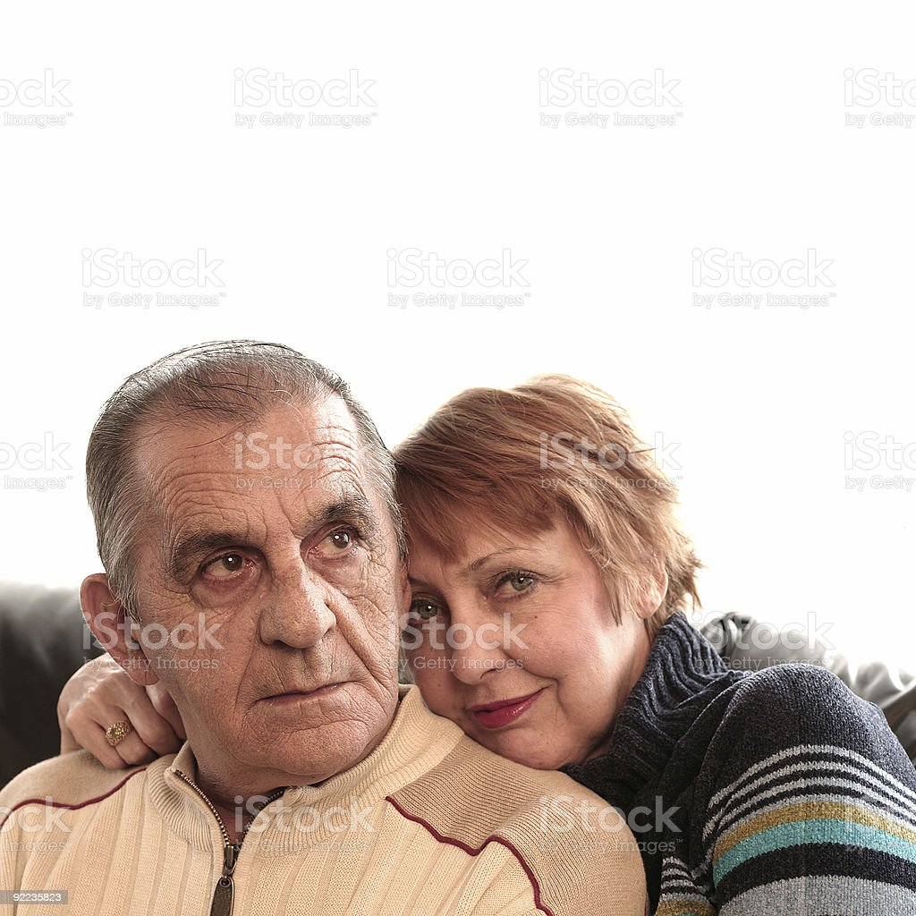 Casual Couple royalty-free stock photo