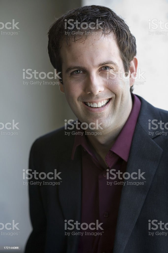 Casual Friday Businessman royalty-free stock photo