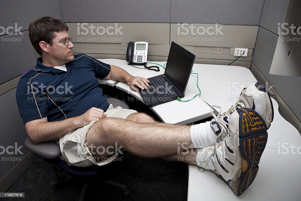 Casual Friday royalty-free stock photo