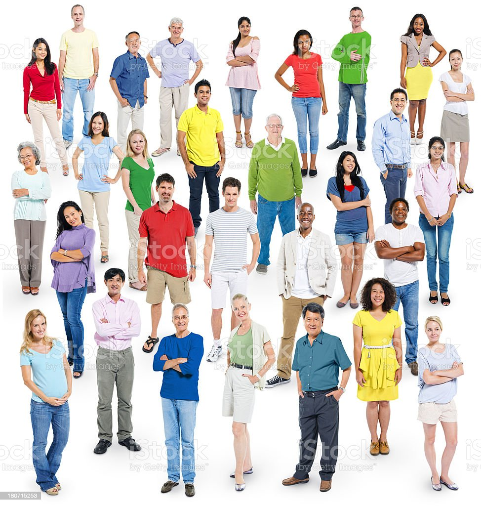 Casual Group of People royalty-free stock photo