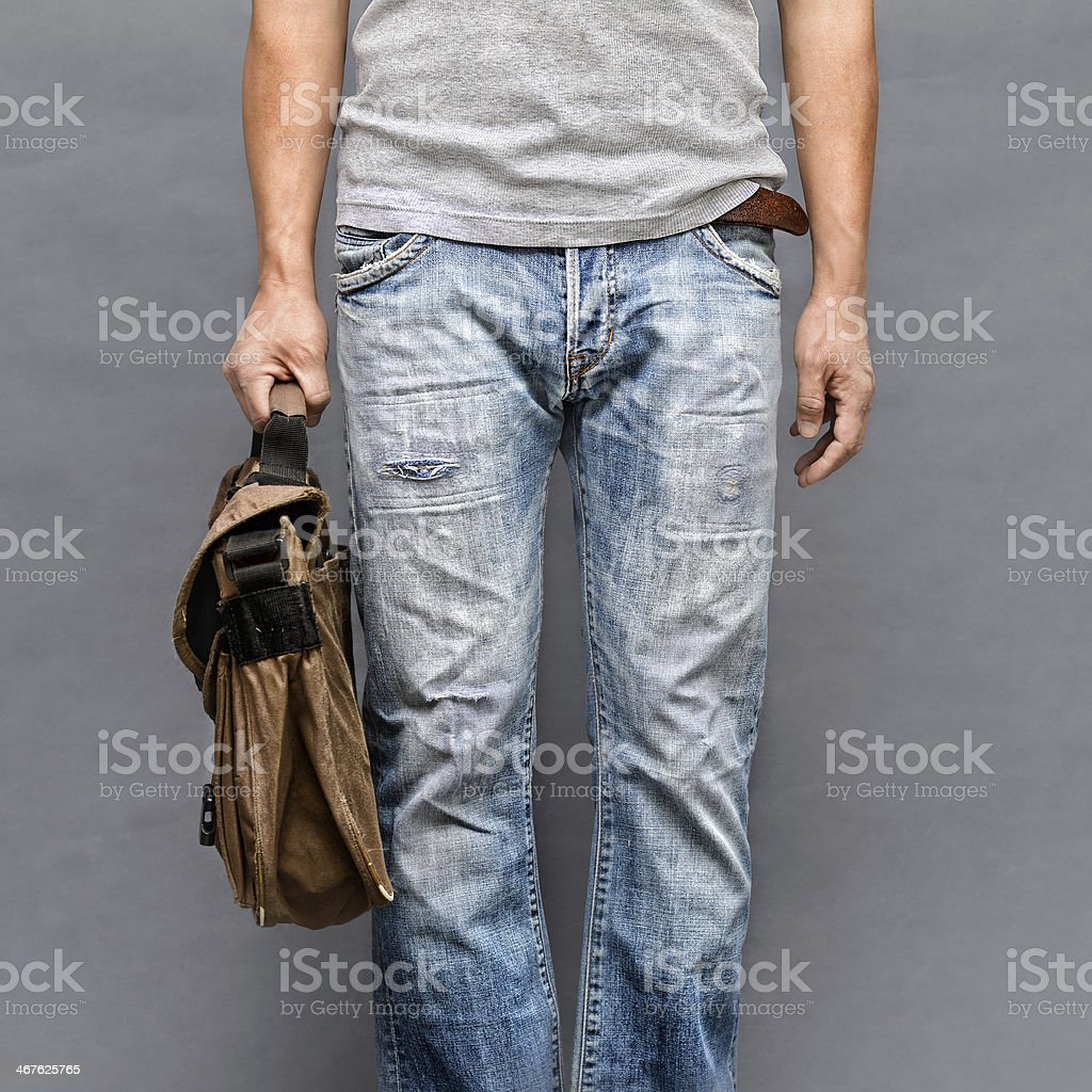 Casual look closeup royalty-free stock photo