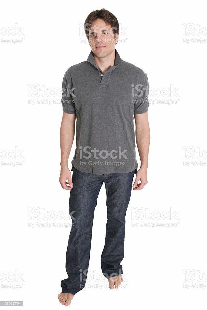 Casual homme debout photo libre de droits