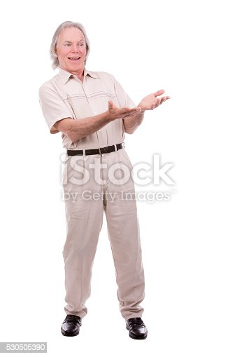 1045527172 istock photo casual man on white 530505390