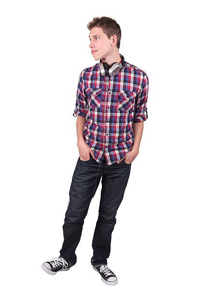 Casual man standing Casual man standing men in tight jeans stock pictures, royalty-free photos & images