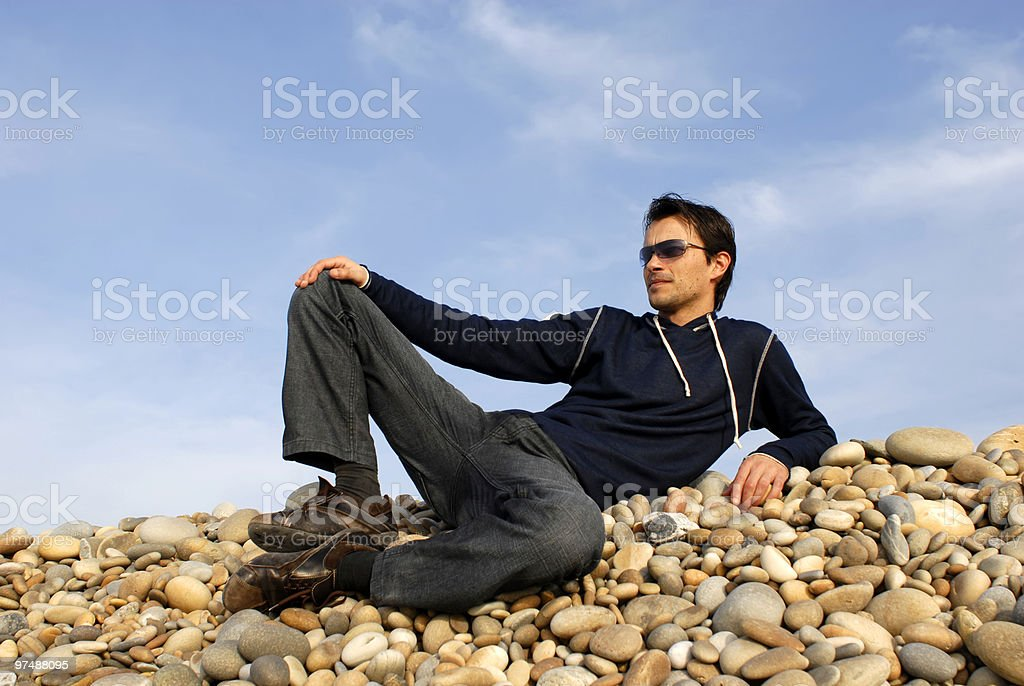 casual royalty-free stock photo
