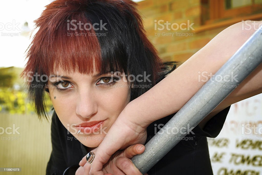 Casual Portrait stock photo