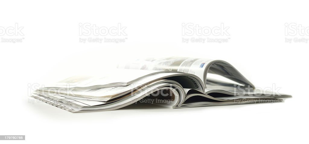 Casual Reading royalty-free stock photo