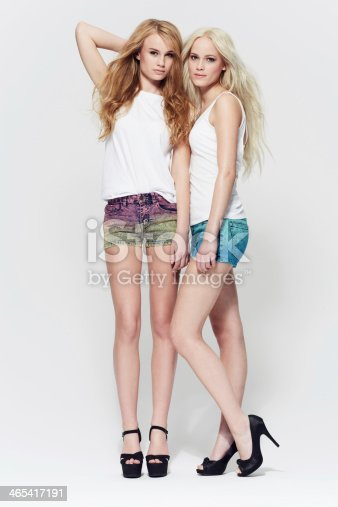 istock Casual style dressed up with heels! 465417191