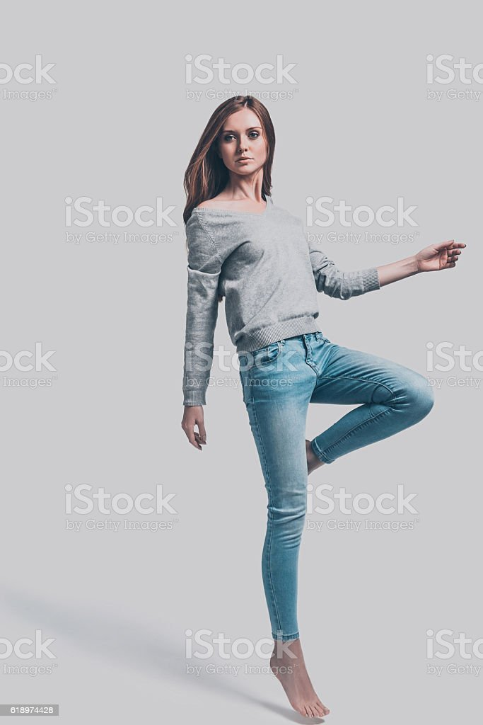 Casual style. stock photo
