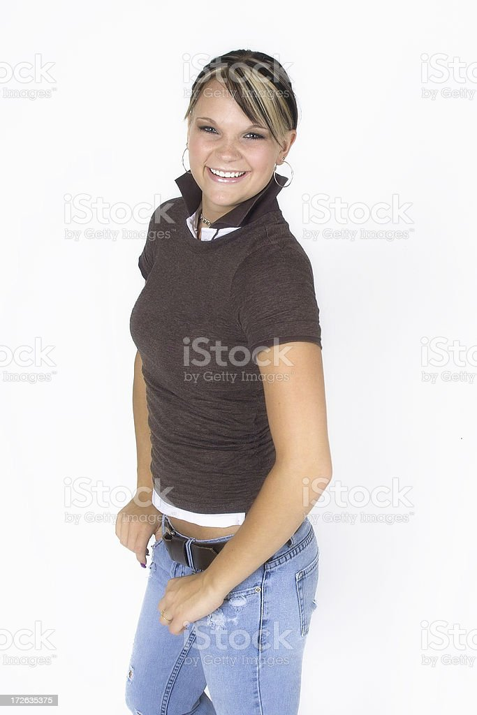 Casual Teen royalty-free stock photo