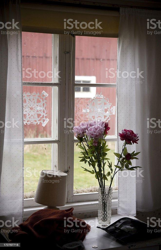 Casual Window royalty-free stock photo