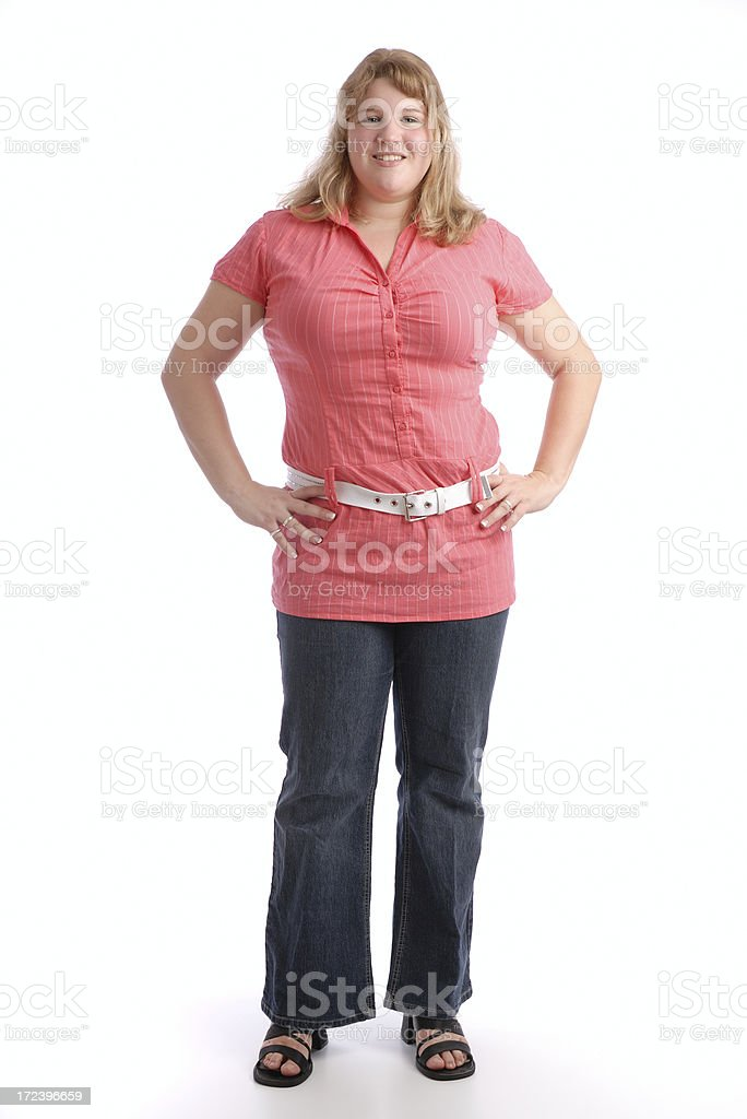 Casual woman royalty-free stock photo
